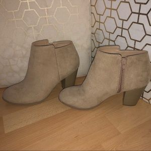 Cute Heeled Ankle Booties